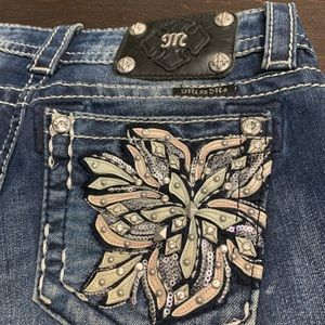 Miss Me Signature Boot Jeans (Size 26)
